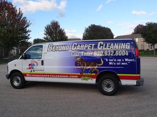 Beyond Carpet Cleaning Vehicle Wrap