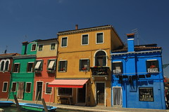 Colourful houses of Burano!