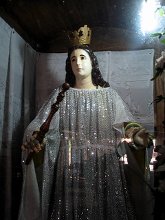 Statue of Sta. Isabel at Castillo