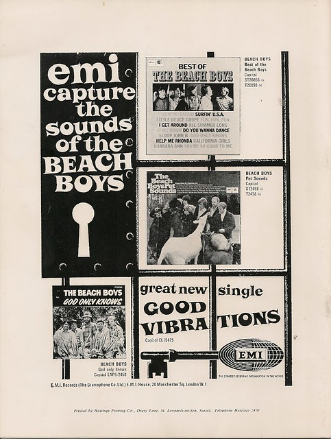 14 - Advert - The Beach Boys on EMI