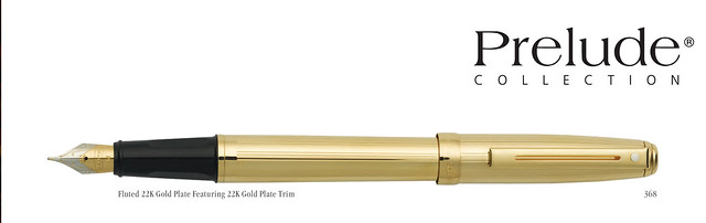 SHEAFFER PRELUDE COLLECTION PEN 3