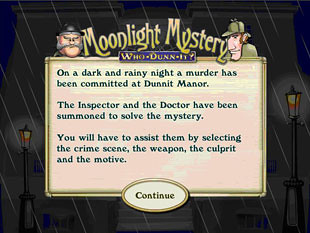 Moonlight Mystery Bonus Game