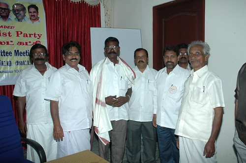 RSP All India General Secretary T.J Chandrachoodan and Tamilnadu State Convener Dr.A.Ravindranath Kennedy M.D(Acu).,attended the State Organaiser`s Committee Meeting at Madurai... 30 by Dr.A.Ravindranathkennedy M.D(Acu)