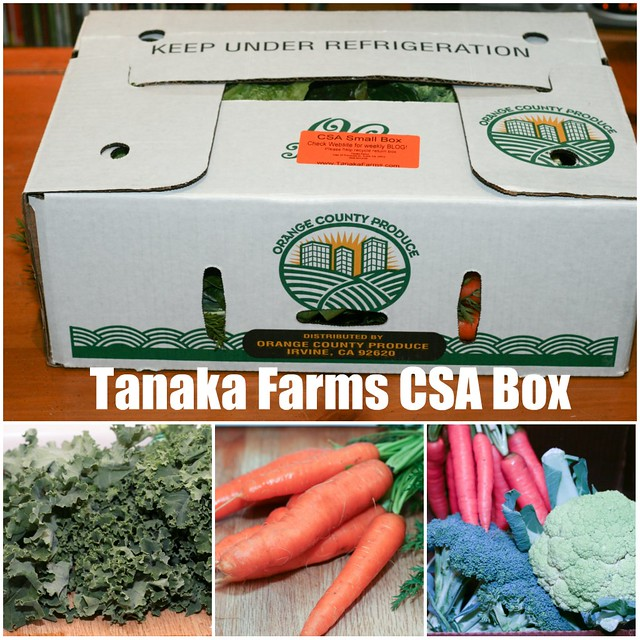 Tanaka Farms CSA Collage