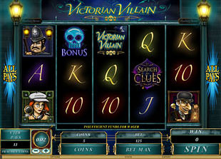 Victorian Villain slot game online review