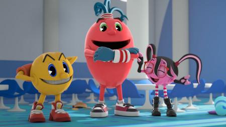 120301(2) - 經典電玩《PAC-MAN 小精靈》將改編為3D立體電視動畫版,預定2013年秋天在Disney XD播出!
