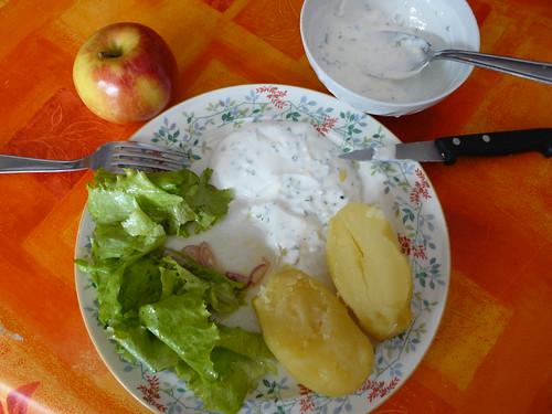 un bon souper by Claudie K - on/off quelque temps