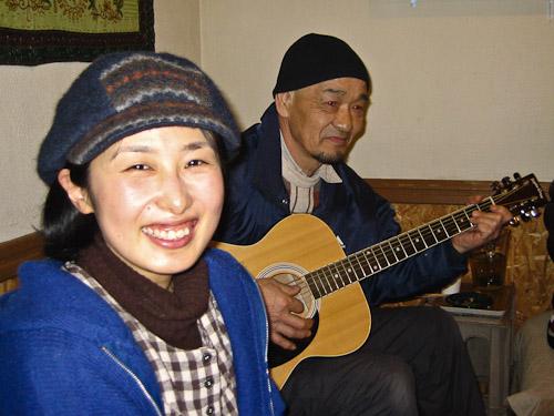 Noriko and Hiro