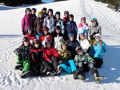 Klassenfoto mit Gruppenleitern