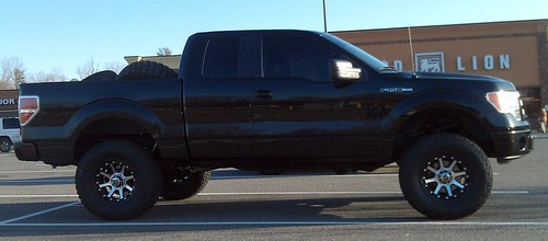 Finally Got The Lift Done Ford F150 Forum