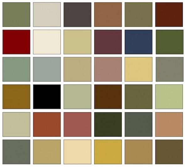 bungalow color chips flickr photo sharing. Black Bedroom Furniture Sets. Home Design Ideas