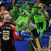Glenn Howard watches the Green Men