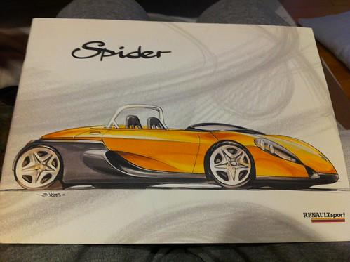 Renault Sport Spider Catalog