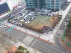 SBS(Seoul Broadcasting System) parking lot