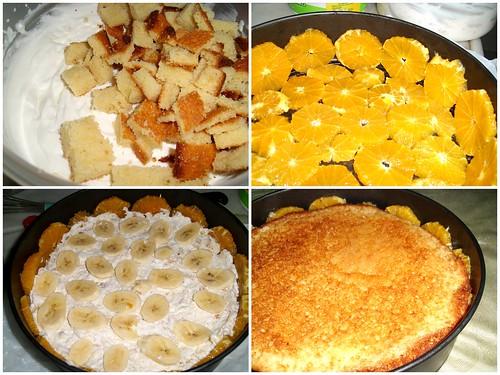 portakallı pasta