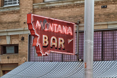 Montana Bar, Miles City, MT, September, 2011