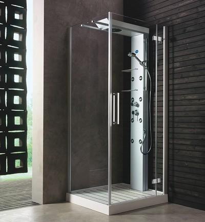 Las cabinas de ducha excelente opci n para decorar ba os - Cabinas de ducha rectangulares ...