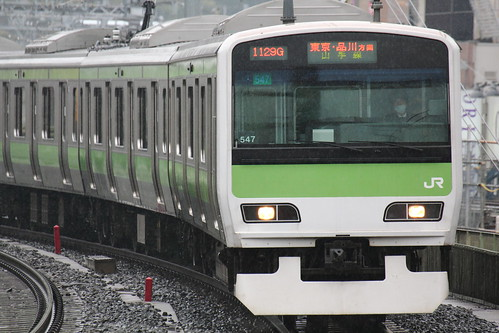 Test photo -YAMANOTE E231- (Okachimachi, Tokyo, Japan)
