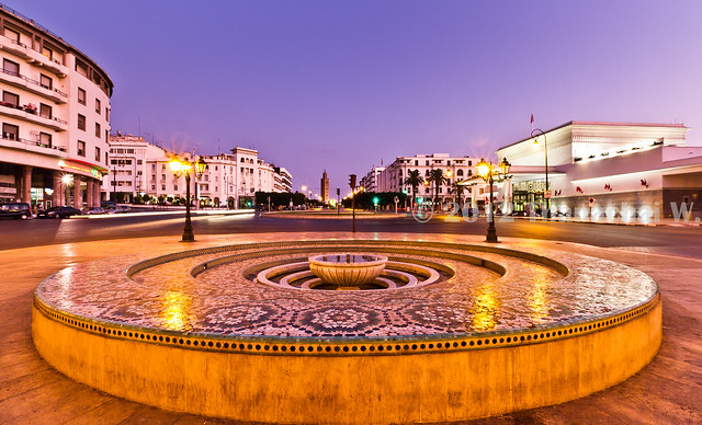 Downtown of Rabat (Centre-ville)