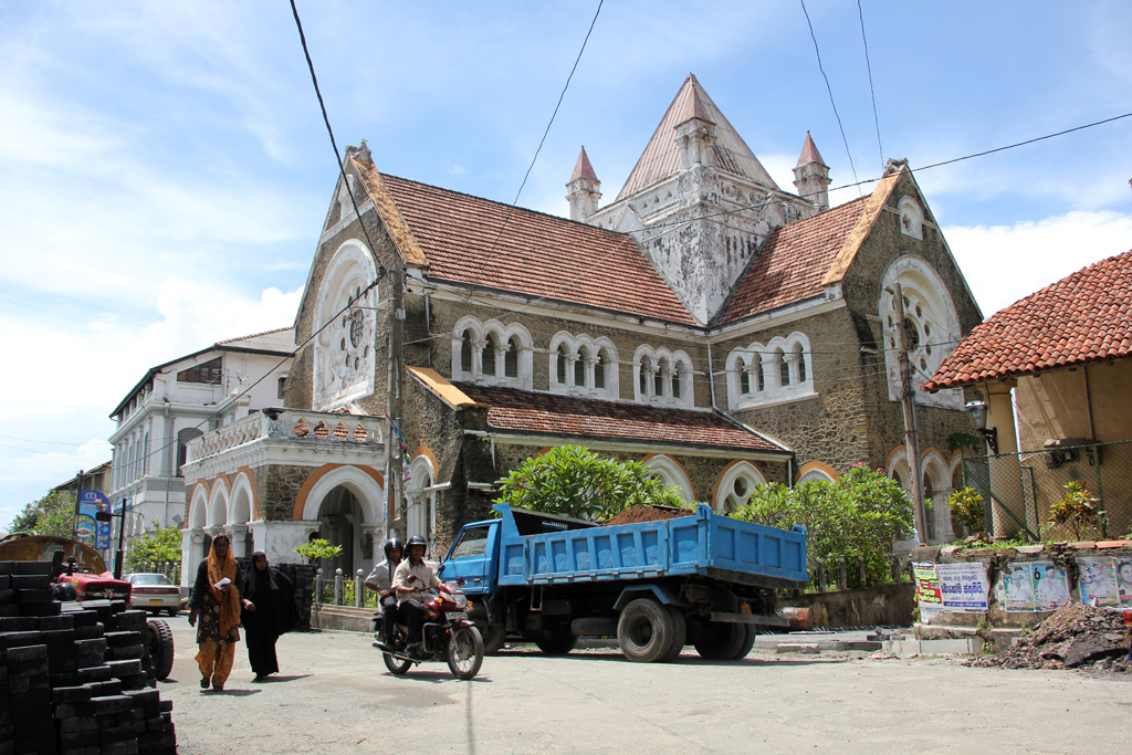 Old European Church in Galle