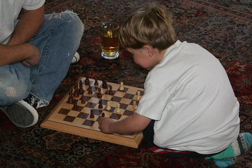 First Chess Lesson