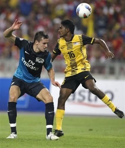 Malaysia Arsenal Soccer