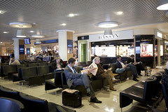Departures hall, Airside at London City Airport (7)