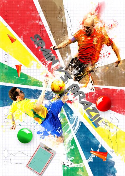 spain vs brazil