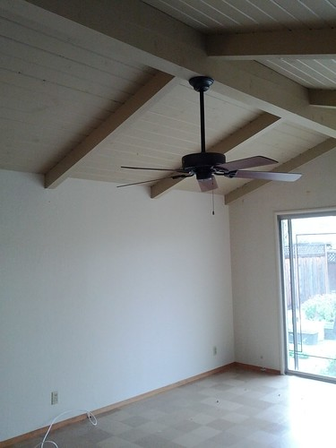 Craft room with ceiling