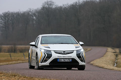 Ampera debuts at Alternative Energy Monte Carlo Rallye