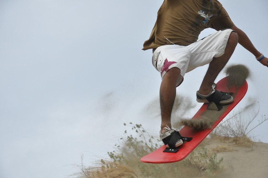 Sandsurfing Ilocos