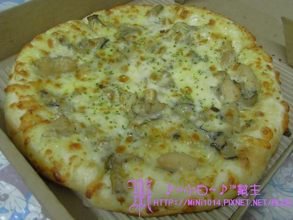 Pizza Hut新品-輕Q餅皮 (蕈菇嫩雞)
