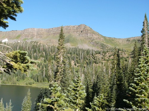 Little Causeway Lake, Devil's Causeway Trail, Flat Tops Wilderness Area, Colorado