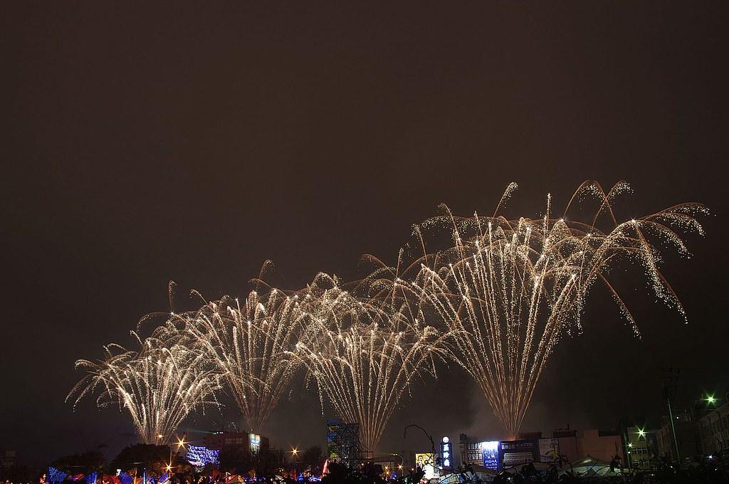 鹿港燈會煙火