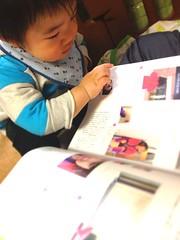 何か読むとらちゃん(2012/3/22)