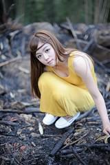 [フリー画像素材] 人物, 女性 - アジア, 台湾人, ワンピース・ドレス ID:201204052200