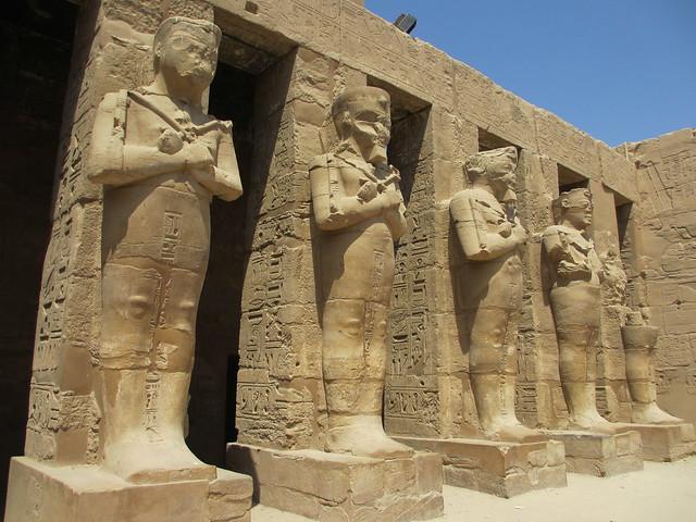 Karnak - Ramses III:n temppelilltä