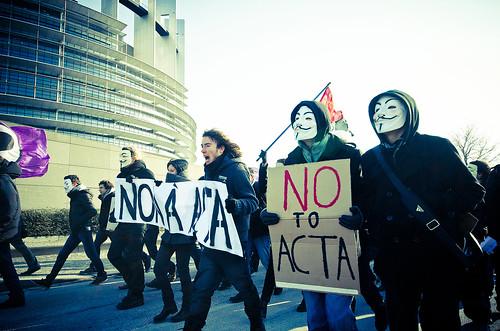 No ACTA - Strasbourg