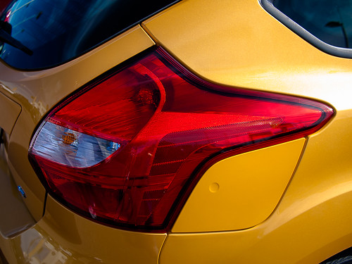Ford Focus 2012 Right Rear Corner