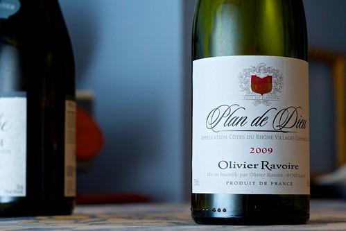 2009 Olivier Ravoire Plan de Dieu Cotes du Rhone Villages
