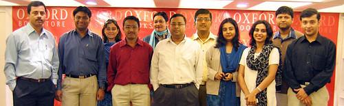 Gautam, Myself, Satarupa, Atanu, Mona, Rajiv Chowdhry(CEO), Alarka, Devapriya, Alina, Partho & Sujoy