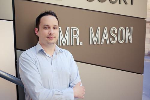 Mr Mason at Mr Mason