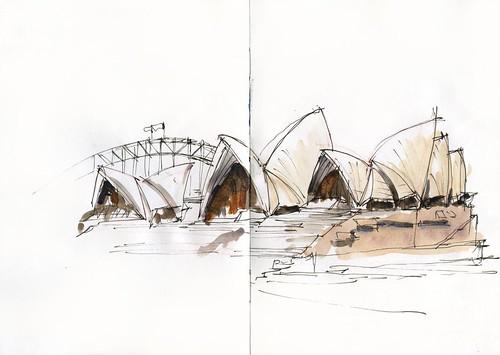 120214_02 Sketching with Freddie_Opera House