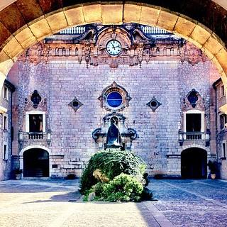 The Monastery of Lluc in Mallorca