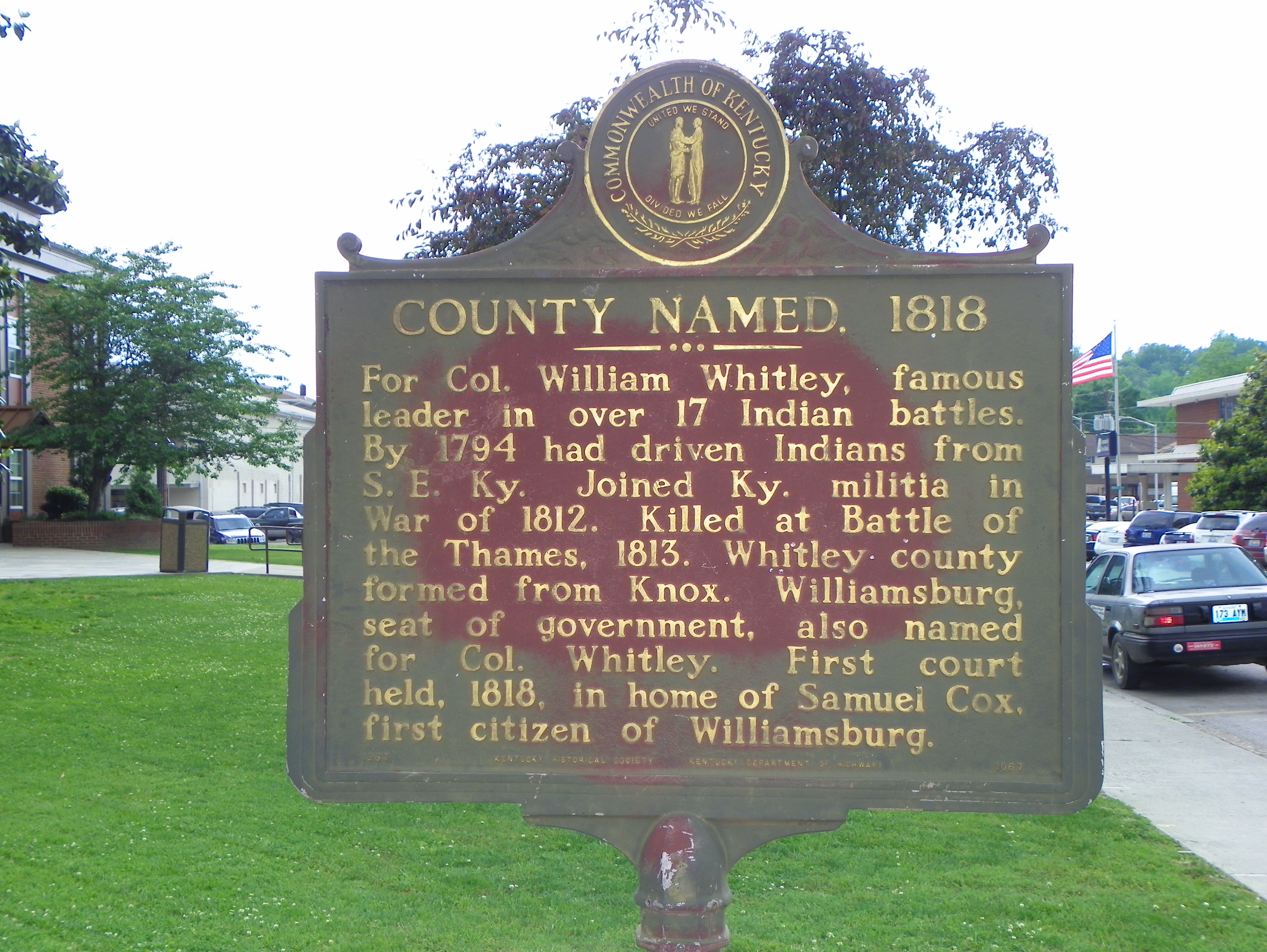 whitley county dating Whitley county detention center is a medium security county jail located in city of williamsburg, whitley county, kyit houses adult male inmates (above 18 years of age) who are convicted for crimes which come under kentucky state law.