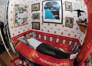 Carl Jenkinson's old bedroom