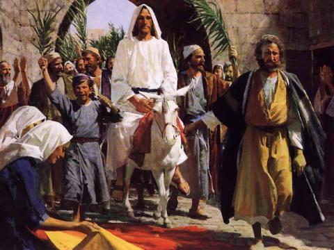 Devotional Thoughts for Hosanna Sunday