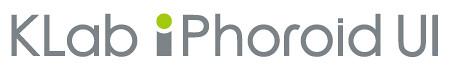KLab iPhoroid UI Logo