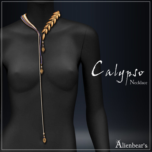 Alienbear Jewelry Design Calypso the Greek goddess
