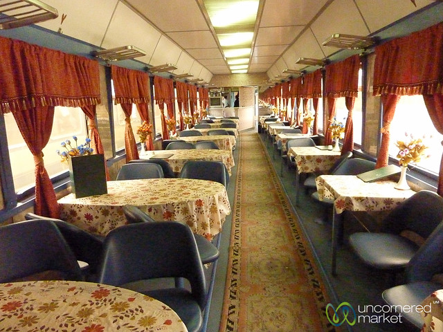 Inside an Iranian Train - Tabriz to Istanbul
